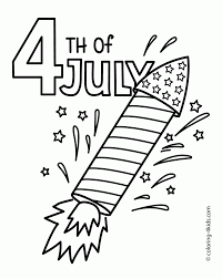 Small Picture Coloring Pages July Rocket Coloring Pages Usa Independence Day