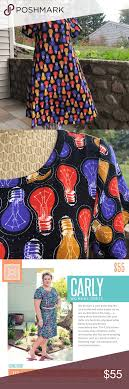 Light Bulbs Lularoe Carly High Low Dress Nwt Lularoe Carly