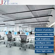 lights for office. aliexpresscom buy m black silver led strip lights office classroom chandeliers modern fluorescent long bar aluminum lamp hanging from for