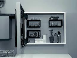Mueble TV lacado orientable suspendido RACK BOX by Fimar   Diseño ...