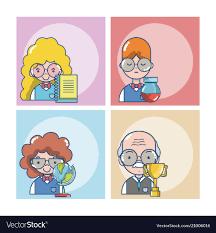Students And Teachers Cartoons
