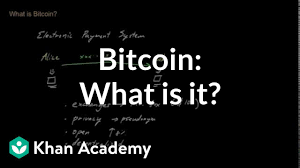 Only 21 million btc will ever exist, making it a. Bitcoin What Is It Video Bitcoin Khan Academy