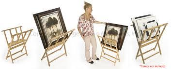 Art Print Display Stand Amazing Folding Art Display Stands Diy Canvas Print Rack DIY Craft 32
