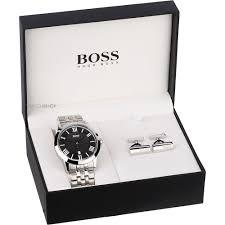 """men s hugo boss cufflink box set watch 1570027 watch shop comâ""""¢ mens hugo boss cufflink box set watch 1570027"""