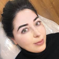 ombre brows semi permanent makeup