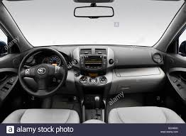 2009 Toyota RAV4 Limited in Blue - Dashboard, center console, gear ...