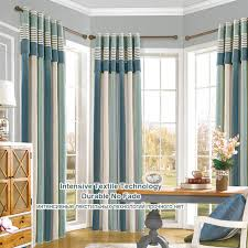window curtain living room modern curtain blackout panel ds chenille room curtain cotton roman shades striped