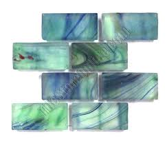 stain glass mosaics brick subway stained peaceful sea 5 8 x 1 4 mosaic stepping stone stain glass