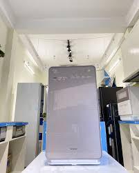 Máy lọc không khí tạo ẩm Hitachi EP-NVG90-N vàng Champagne
