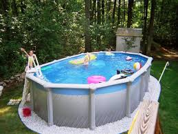 above ground pool walmart.  Above Rectangle Above Ground Pools Walmart U2014 Amazing Swimming Pool Pertaining To  Backyard With R