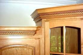 installing crown molding on kitchen cabinets lush cabinet ideas and adding decorative uneven ceiling