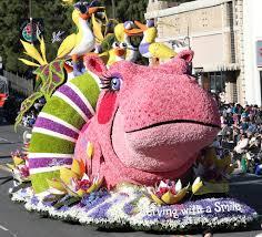 Rose Bowl Float Decorating Rules Rose Parade 100 100100 KPCC 22