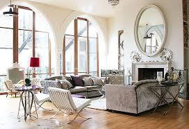 Living Room Mirrors Impressive And Modern