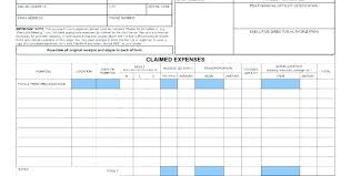 Claim Report Template Travel Expense Log Template Free Report Templates Business