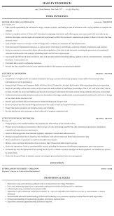 Electrical Estimator Resumes Electrical Estimator Resume Sample Mintresume