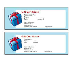gift certificate for business 40 free gift certificate templates template lab