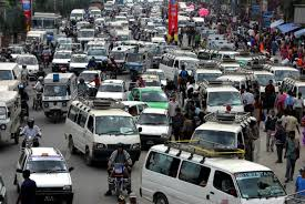 thousands of traffic not a single traffic light dwit news kathmandu traffic on kantipath rd photo by j pemberton