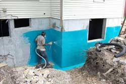 ames blue max. Many New Waterproofing Formulas Are Rubber-polymer Based, Instead Of Asphalt-based, Which Gives Them Incredible Flexibility And Performance. Ames Blue Max