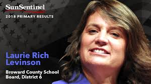 Laurie Rich Levinson fought back a... - South Florida Sun Sentinel |  Facebook