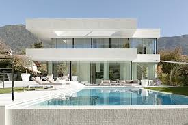 the most beautiful houses in the world interior. swimming pool and modern home. white facade. house m, one of the most beautiful houses in world interior :
