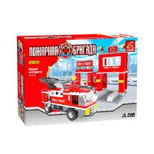 <b>Конструктор AUSINI</b> 21602 <b>Пожарная бригада</b>