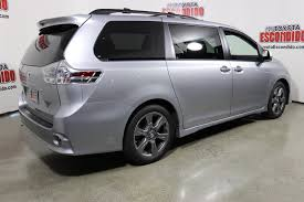 New 2018 Toyota Sienna SE Premium Mini-van, Passenger in Escondido ...