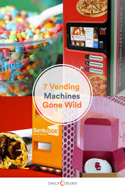 Lunch Vending Machines Magnificent 48 Crazy Vending Machines You Need To See To Believe