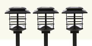 8 solar powered outdoor lights for your home or garden