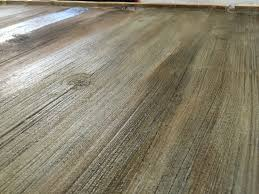 Concrete Wood Floors Stained Concrete Floors That Look Like Barn Wood To Get The Color