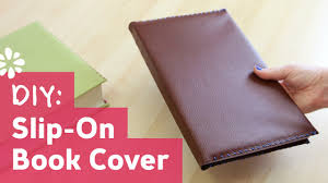 leather book cover kit diy slip leather book cover