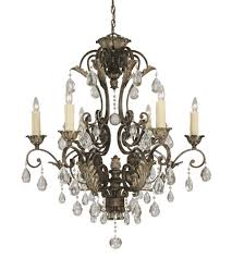savoy house crystal res nefertiti 6 light chandelier in moroccan bronze 1 720 6 241