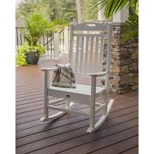 Shop Trex Outdoor Furniture Yacht Club 1 Count Classic White