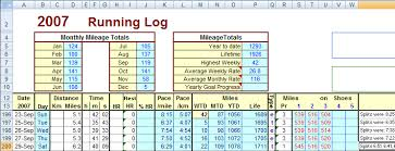 Exercise Tracking Chart Excel Training Logs Dc Rainmaker