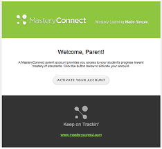 masteryconnect bubble sheet student activate your parent portal masteryconnect support center