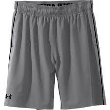 under armour mens shorts. under armour mens mirage 8 inch shorts - graphite n