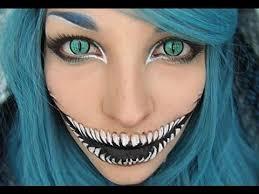 25 creepiest makeup ideas