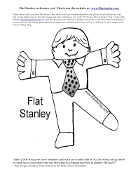 Flat Stanley Printable Flat Stanley Printable Coloring Pages For Kids And For