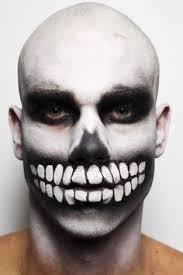 skeleton makeup for kids fashion week 2010 alexandre herchovicth eyeshadow lipstick