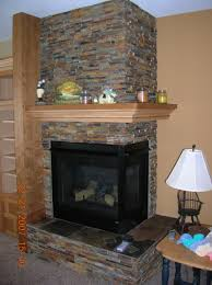magnificent corner fireplace mantels simple design surround ideas within inspirations 17