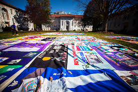 Quilt on the Quad recognizes World AIDS Day | Emory University ... & 1, Emory marks World AIDS Day with Quilt on the Quad, the nation's largest  collegiate display of panels from the AIDS Memorial Quilt. Emory Photo/Video Adamdwight.com