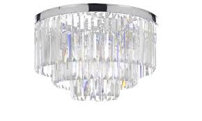 odeon empress crystal glass fringe 3 tier chandelier lighting fixture