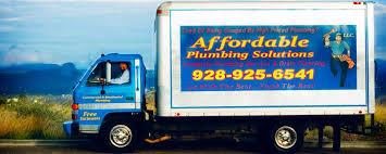 affordable plumbing solutions tri city plumber serving prescott