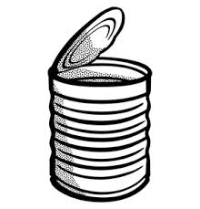 can clipart black and white. can clipart black and white %