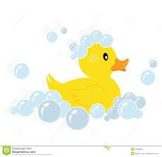 Rubber Duck Bath Clipart