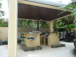Covered Outdoor Kitchen Plans Modern Covered Outdoor Kitchen Covered Outdoor Kitchen Pictures