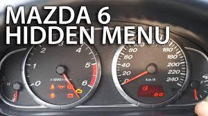 2017 Mazda 6 Dash Lights Mazda 6 Hidden Menu Test Mode Mr Fix Info