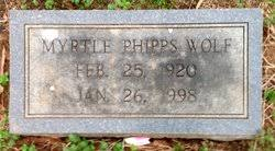 Myrtle Phipps Wolf (1920-1998) - Find A Grave Memorial
