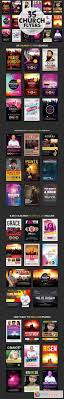 church flyers bundle photoshop vector 37 church flyers bundle 568657