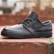 nike janoski leather black