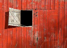Centralazdining Charming Old Red Barn Doors With Decoration With  Door Open The